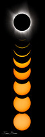 Eclipse Progression (Vertical) - Total Solar Eclipse, 17-08-21