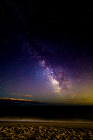 Milky Way Over Robert Moses Beach